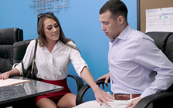 [BangTrickery] Mackenzie Mace (Doesn't Land The Job But She Lands Up And Down On The Dick / 10.19.2021)